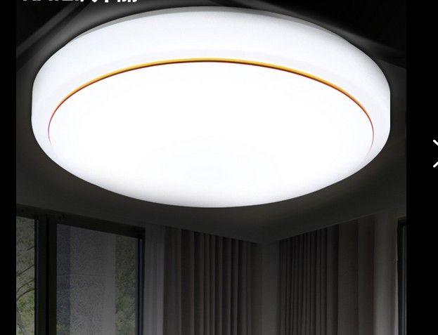 Led lâmpada do teto rodada lâmpada do quarto varanda corredor da lâmpada corredor cozinha banheiro sala de estar iluminação