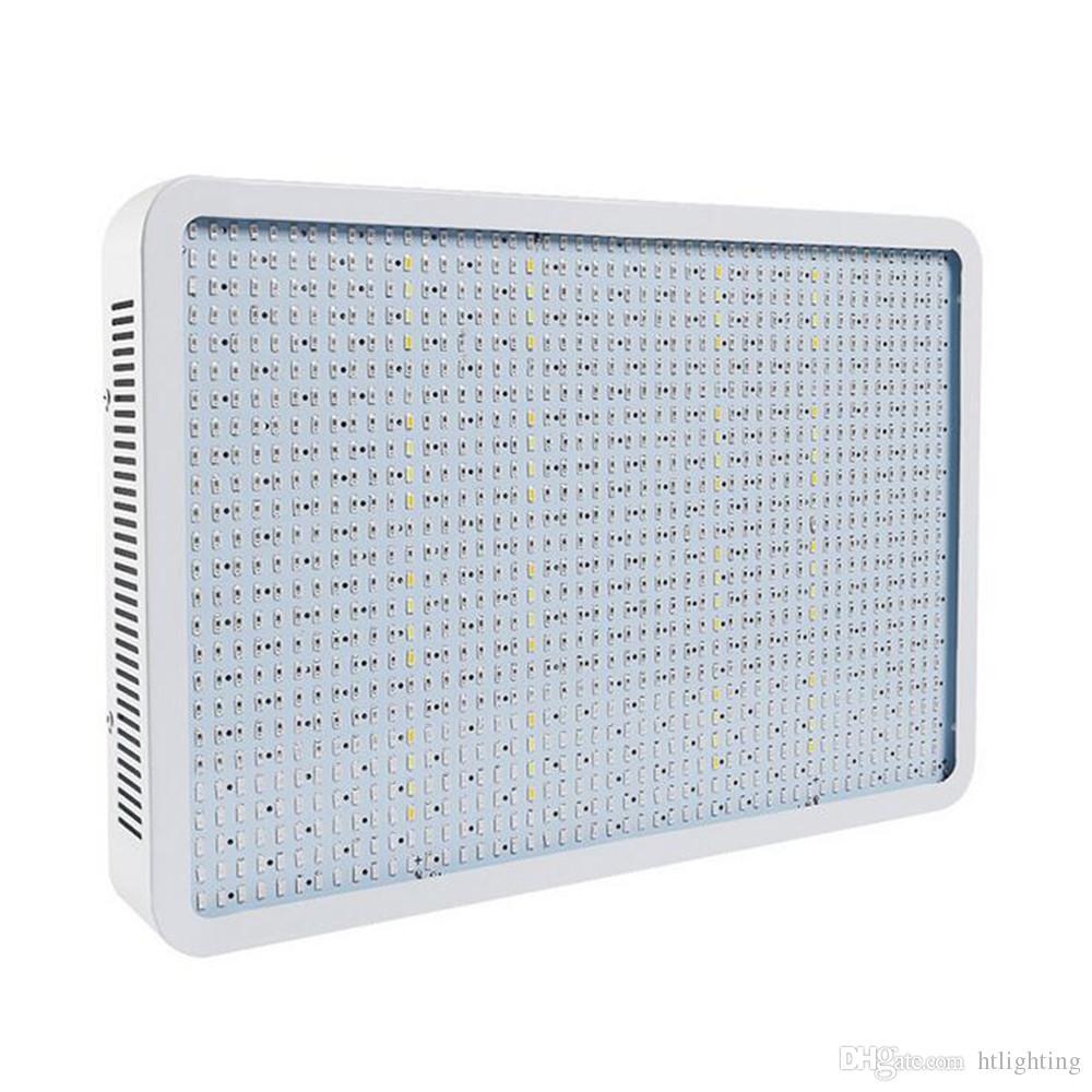 2adet 85-265V Evrensel 1200W Işıklar Kare SMD5730 Tam Spektrum Topraksız LED Bitki Lambası Grow LED