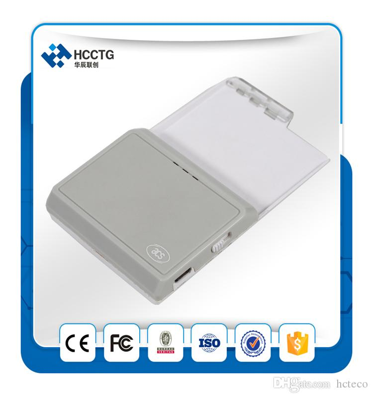 USB Smart Card Reader ACR3901 Acs Iso 7816 Bluetooth Contact Ic Chip Card Reader Writer