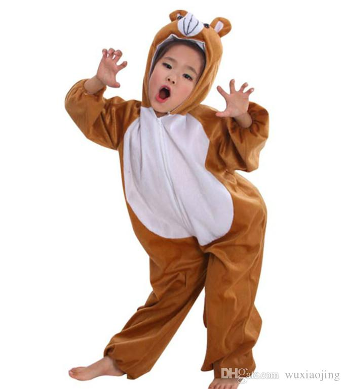 Brown Bear Costumes Kid Halloween Costume Ideas Lint Perform Clothes Cosplay Animal Apparel Birthday Gift Festival u0026 Party Supplies Halloween Costume Snake ...  sc 1 st  DHgate.com & Brown Bear Costumes Kid Halloween Costume Ideas Lint Perform Clothes ...