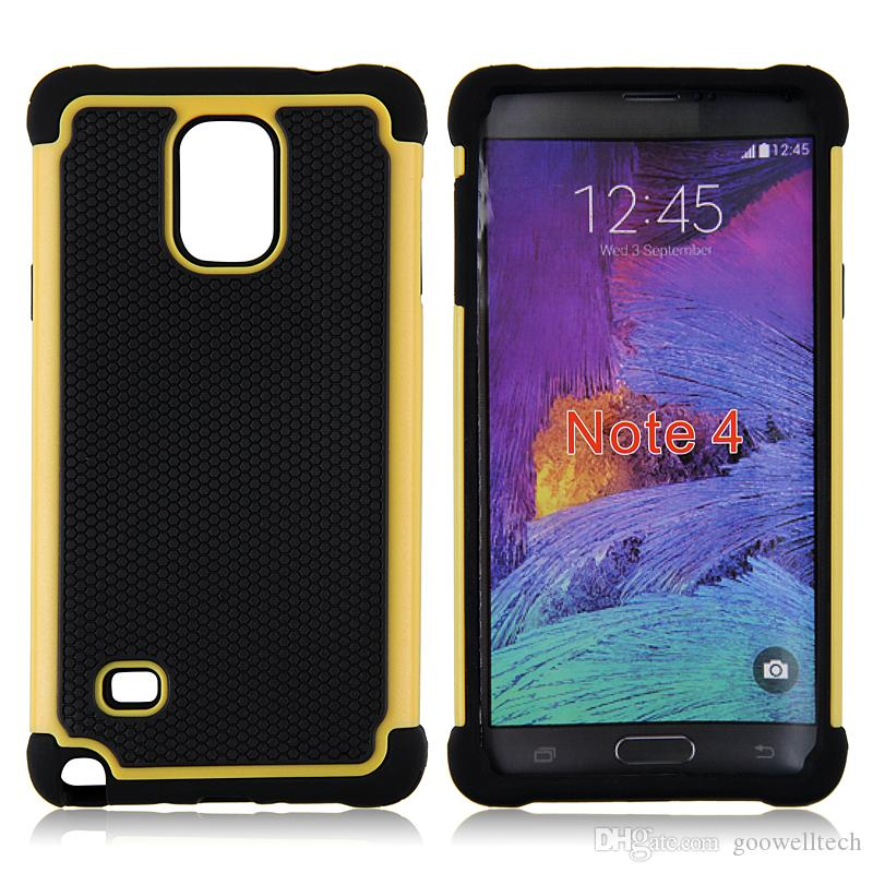 Hybrid Dual Layer Football Skin Shockproof Back Case for Samsung Note2 Note3 Note 4 Note 5 Phone bag case
