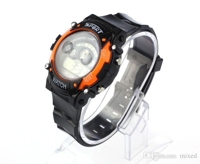 NT-56F Sport Watch Best Selling Excellent Sport LED Light Fashion Impermeabile Boy Girl Orologio da polso da polso elettronico regalo