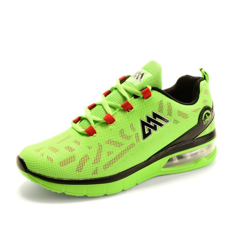 UK Shoes Store - New Mens Running Shoes Breathable Trainer Sneakers Sport Free Runner Shoes Green Gr