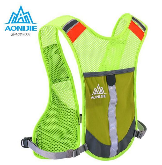 8377f7a529 2019 Wholesale AONIJIE Men Women Lightweight Running Backpack Outdoor  Sports Trail Racing Marathon Hiking Fitness Bag Hydration Vest Pack From  Johiny, ...