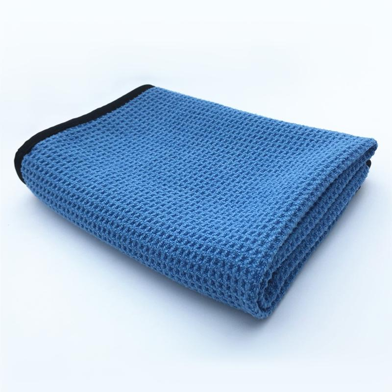 Wholesale- Ultra Absorbent Microfiber Cloth Waffle Weave Cloth 40x60cm Perfect For Car Washing Drying Detailing