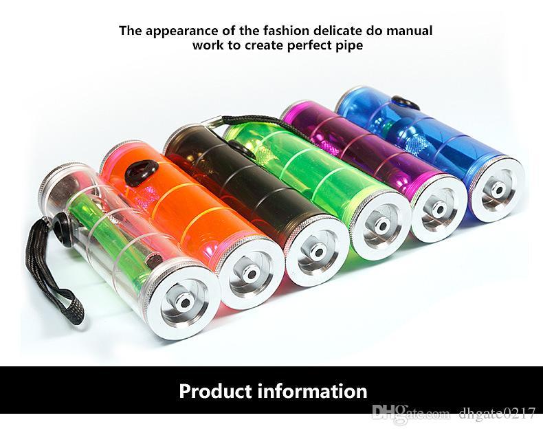 Mode Tragbare Shisha Wasserpfeifen Trockene Kräuter Unzerbrechlich Wasserkraut Tabak Bongs Rauchen Öl Konzentrat