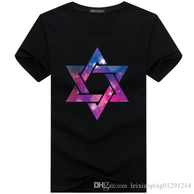 2017 Toptan tee giyim erkek T-Shirt 3D boyama hip hop giyim erkek tasarımcı gömlek artı boyutu siyah beyaz