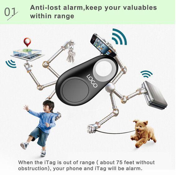 Расположение трекеров Smart Keyfinder Беспроводная связь Bluetooth Tracer Locator Itag Anti потерянный будильник кошелек животное трекер селфи для iPhone Android
