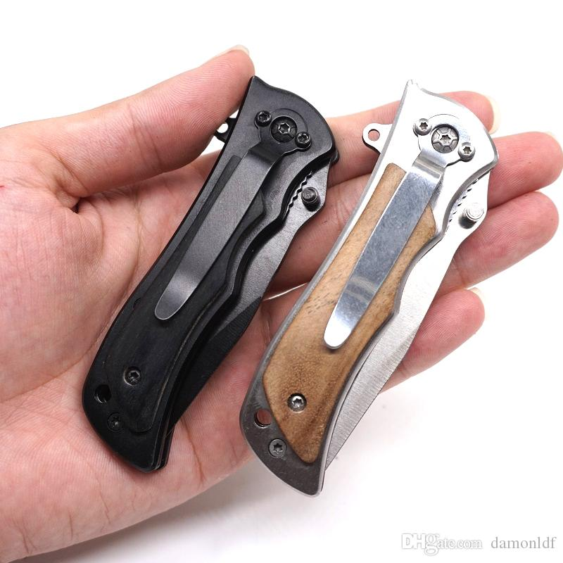 Tactical Survival Knife Folding Blade Hardened 440C Blade Hunting Pocket Knives Swiss Knife Outdoor Rescue EDC Tool