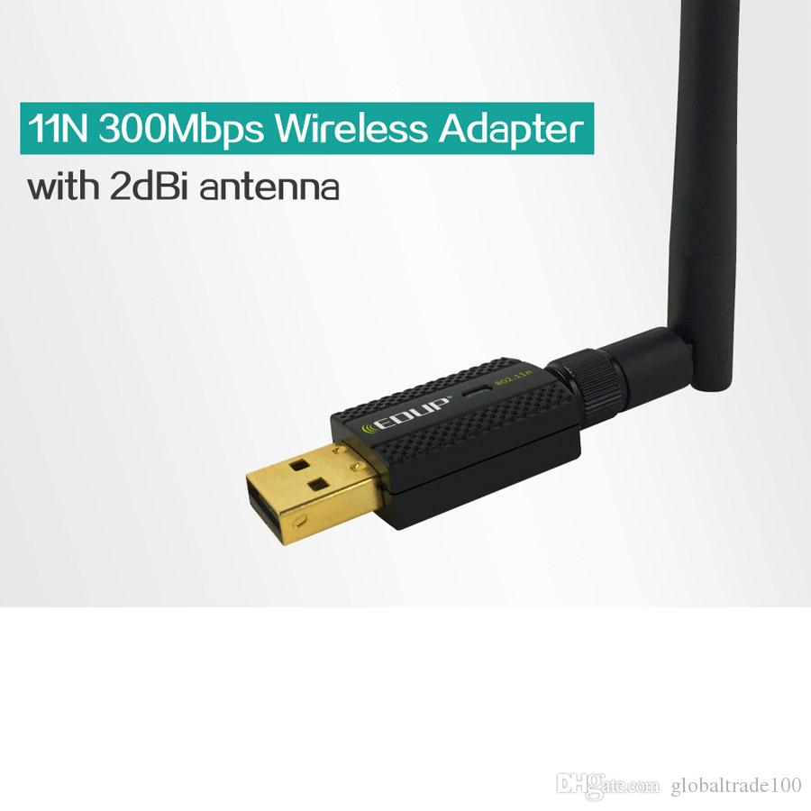 EDUP EP-MS1581 300Mbps USB Wireless Wifi Adapter With High Gain 2dBi Antenna Network Card wi-fi Dongle for Notebook PC