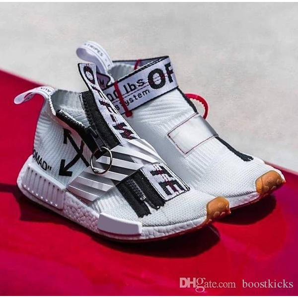 2017 off white x adidas nmd city sock ba7208 mens shoes