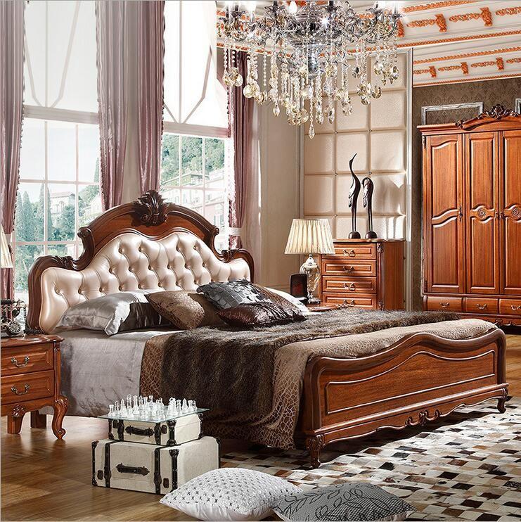 Großhandel Stil Mode Europäische Französisch Geschnitzte Bettmöbel 1 ...