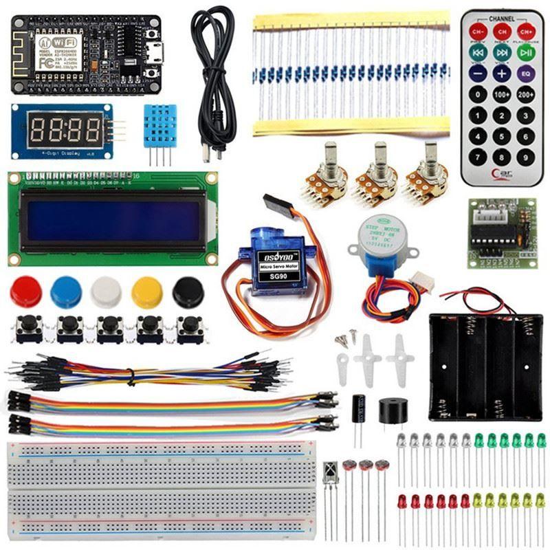 Freeshipping NODEMCU IOT Internet of Things Kit programming learning  starter kit with ESP8266 WIFI