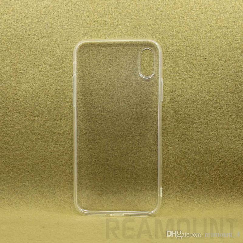 Atacado de ponta Samsung S7 S7 S8 S8 Plus High Qualidade Crystal Clear Silicone impressão UV a caixa do telefone em branco