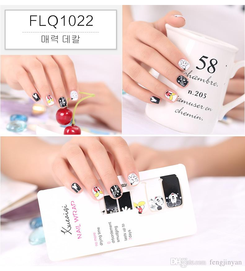 The New Nail Stickers Graffiti Series Candy Available Wholesale Nail ...