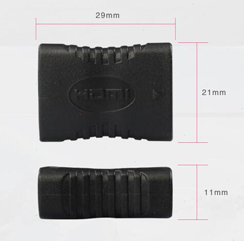 Wholesale HDMI Female to Female F/F Coupler Extender Adapter Extension Connector for HDTV HDCP 1080P HDL