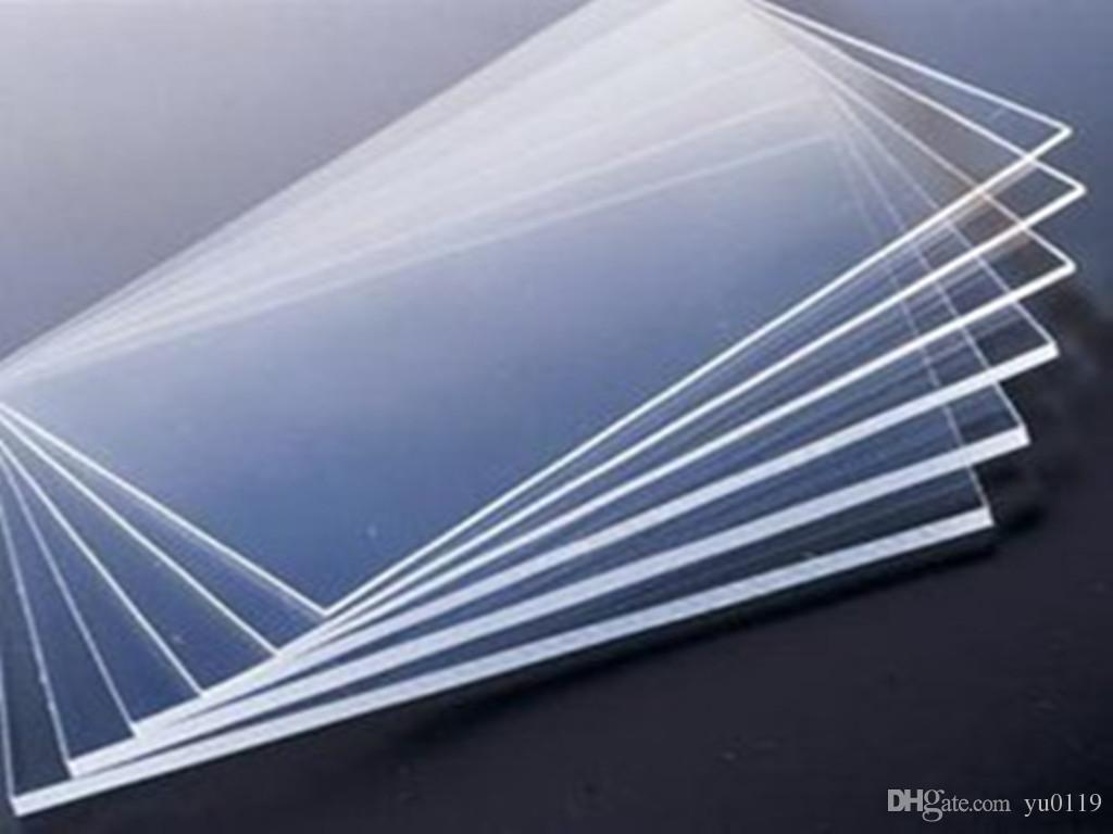 Compre Hojas De Acrílico Transparentes 600x600x3mm Tarjeta De Visita ...