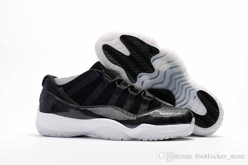 Drop Shipping Basketball Shoes 11s Gym Red Unc 11 Low Barons 11s Space Jam  Bred Men Sports Shoes Ship With Box Size 41 47 Discount Shoes Online Latest  Shoes ...
