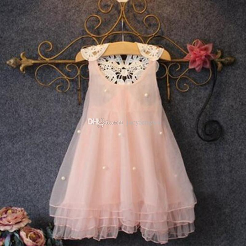 Großhandel Baby Mädchen Prinzessin Kleider Kleidung Mädchen Mode ...