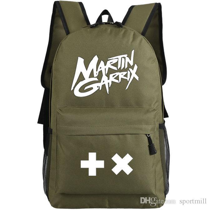 Mochila Martin Garrix Super star school bag Popular DJ daypack Música  mochila Mochila Ao Ar Livre pacote de dia de Esporte