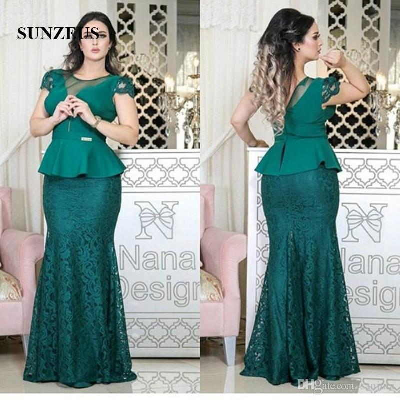Cheap Wedding Dresses Mn: Hunter Green Straight Long Mother Of The Bride Dresses