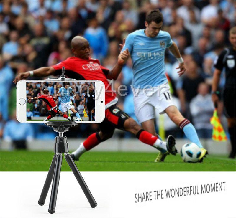 Мода мини портативный путешествия штатив настольная камера монопод для Iphone 5 6 7 Samsung камеры Gopro DV видеокамеры