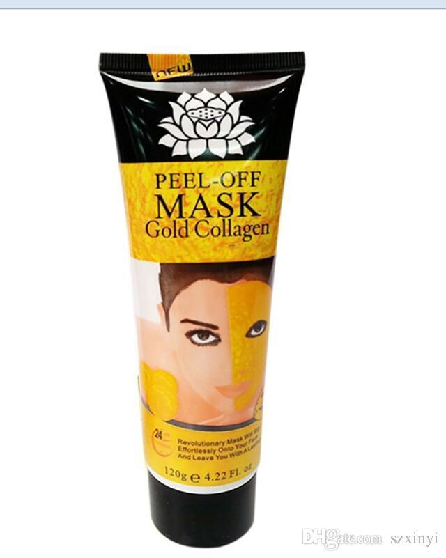 가장 최신 껍질 벗은 얼굴 마스크 블랙 크리스탈 골드 콜라겐 우유 블랙 헤드 리무버 얼굴 마스크 스킨 케어