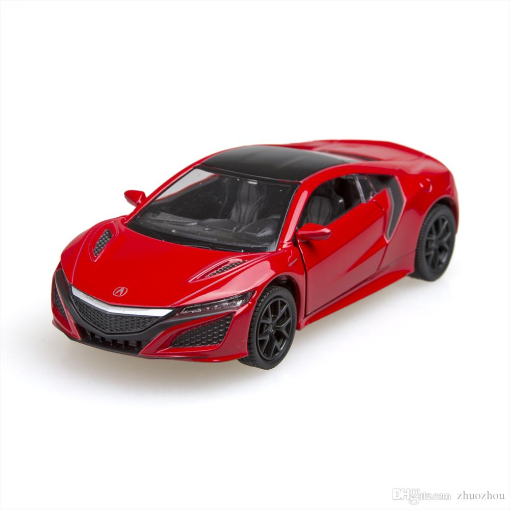 2019 Kinsmart 2016 Acura Nsx Sport Car 1 36 Alloy Metal Racing