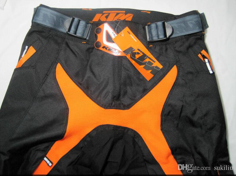 2016 KTM nouveau modèle OEM cross-country course pantalon / pantalon / pantalon / pantalon de protection moto de course noir couleur M L XL livraison gratuite