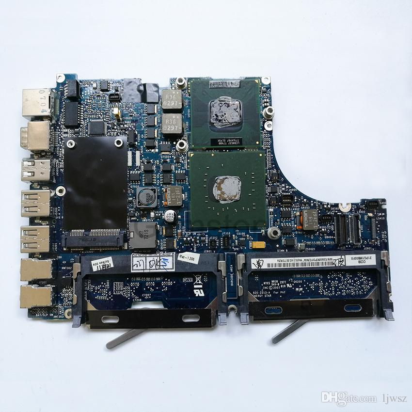 Logic Board Motherboard For Macbook A1181 CPU T7400 2.16GHz P/N 820-2213-A MB062 MB063 2007 Year