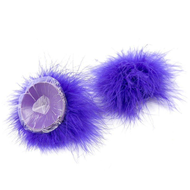 Pastillas de pezón de plumas Cubiertas Almohadillas adhesivas para la piel Juguetes sexuales para mujeres Productos para adultos Juegos eróticos para adultos Juguetes SM 0701