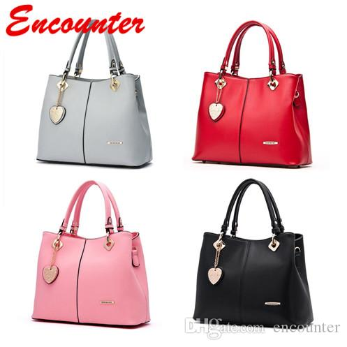encounter lady s leather handbags office ladies totes for working