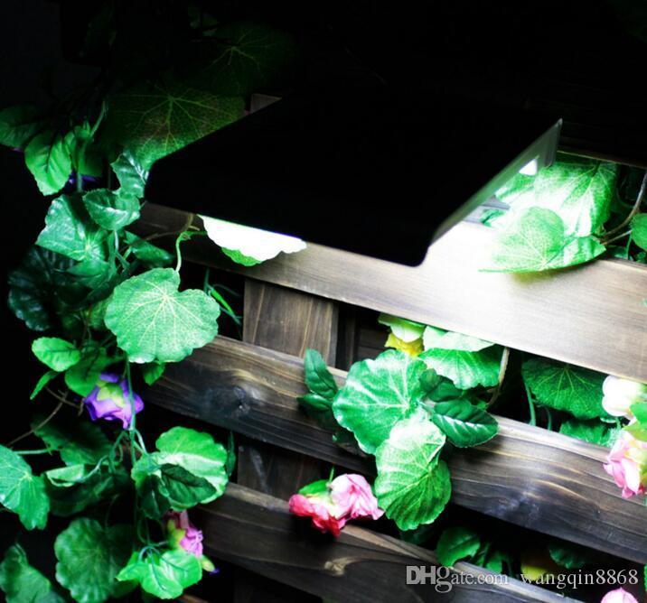 46 LED 방수 IP65 태양 광 무선 PIR 모션 센서 빛 야외 정원 풍경 마당 잔디 보안 벽 램프 구동