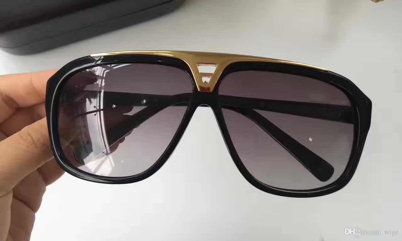 Compre Hip Hop Rapper Evidence Sunglasse Preto Cinza Luxo Milionário  Evidência Óculos De Sol Retro Dos Homens Do Vintage Óculos De Sol Da Marca  Designer De ... 6575c4045d