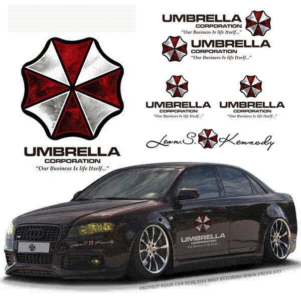 2019 35 90cm Universal Umbrella Corporation Hellaflush Car
