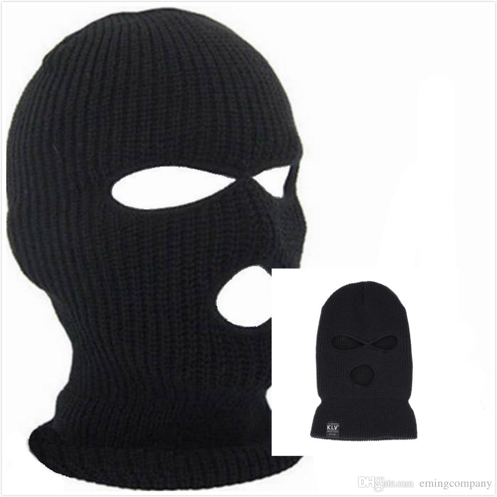 Designer Winter Balaclava For Mens Womens Cycling Skiing Full Face ...
