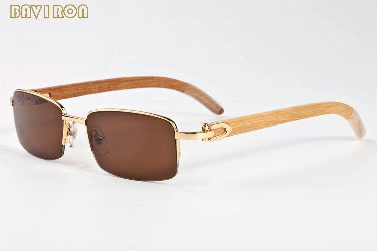 with box 2017 wood glasses frames blue black green clear lenses designer sunglasses for women men wood sunglasses lunettes