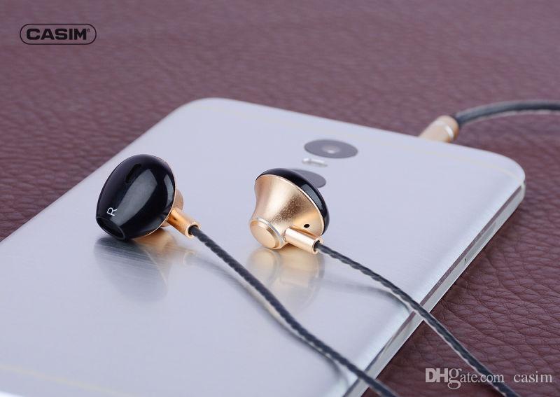 Casim en R6 auricular de teléfono móvil con micrófono para iPhone7 / 7plus / 6S / 6splus / 6plus / iPhoneES Samsung Galaxy para s7 / s8 iPad2 / 3/4