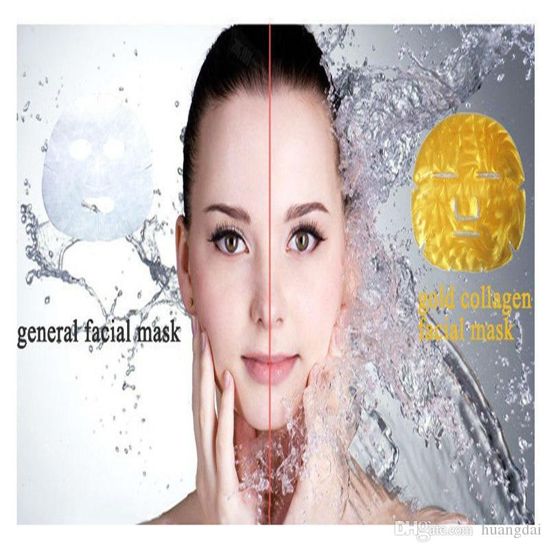 Gold Bio-Collagen Facial Mask Face Mask Crystal Gold Powder Collagen Facial Mask Moisturizing Anti-aging skin care