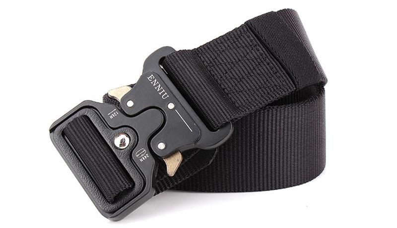 Outdoor Sport Tactical Belt Waistband For Camping Hiking Training - Molle Belt Nylon Waist Belt For Men