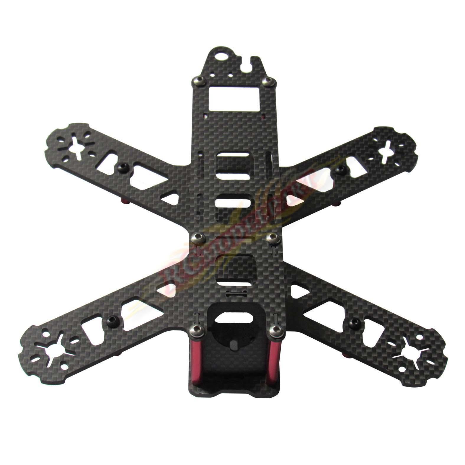 Best 3k Carbon Fiber Qav210 Frame Kit V2 Mini Fpv Drone Racing ...