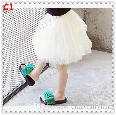 TuTu Jupes 2017 Été 5 Couche Tulle Bébés tutu Jupe Gaze tutu Robe Bébé Vêtements Pettiskirt Danse Ballet Dress Fantaisie Jupes Costume
