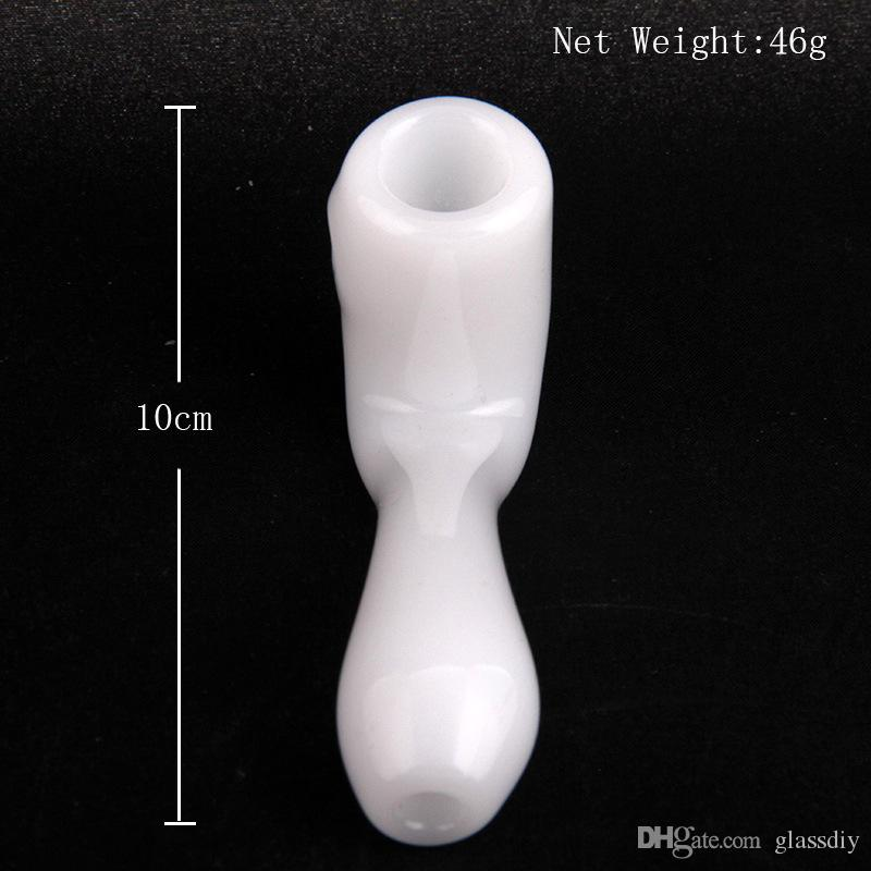 black smoke pipe High boron silicon high temperature resistant glass hand blown tobacco special glass pipe for choose