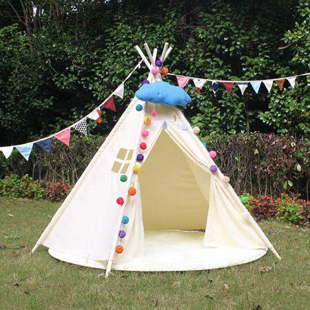 See larger image & 2018 New 2017 Teepee Tents Camping Tents Kids Tent Childrens ...