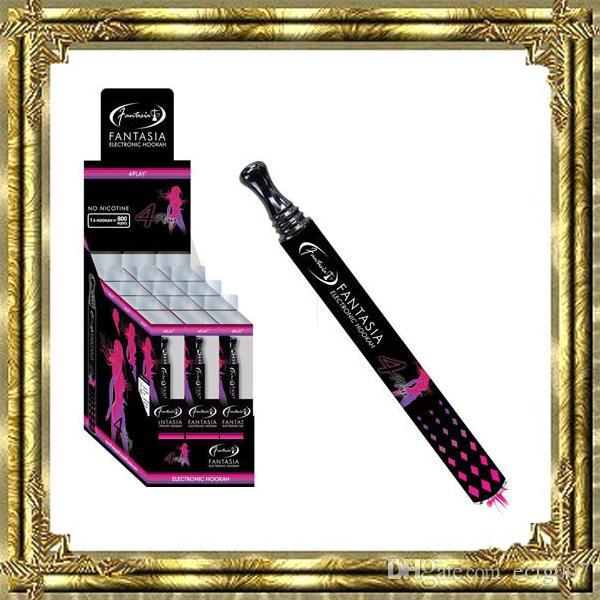 Big sale!!! Fantasia Disposable Cigarette E HOOKAH 800 Puffs Various Fruit Flavors Colorful Pens Electronic Cigarette vape pens wholes