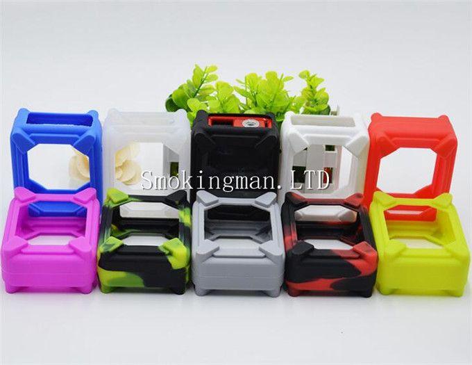 Smoant Rabox 100W Silikon-Kasten-Silikon-Kasten-Gummi-bunte Hülsen-schützende Abdeckungs-Haut für Smoant Rabox 100W Kasten-Umb. DHL