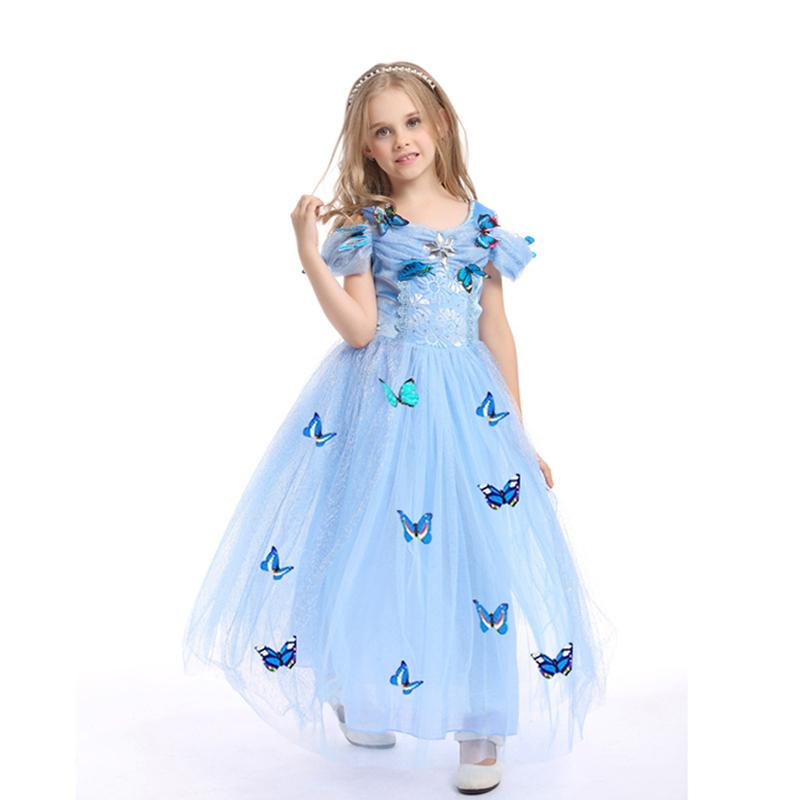 2018 New Baby Girl Ball Gown Princess Dress High Grade Sequined ...