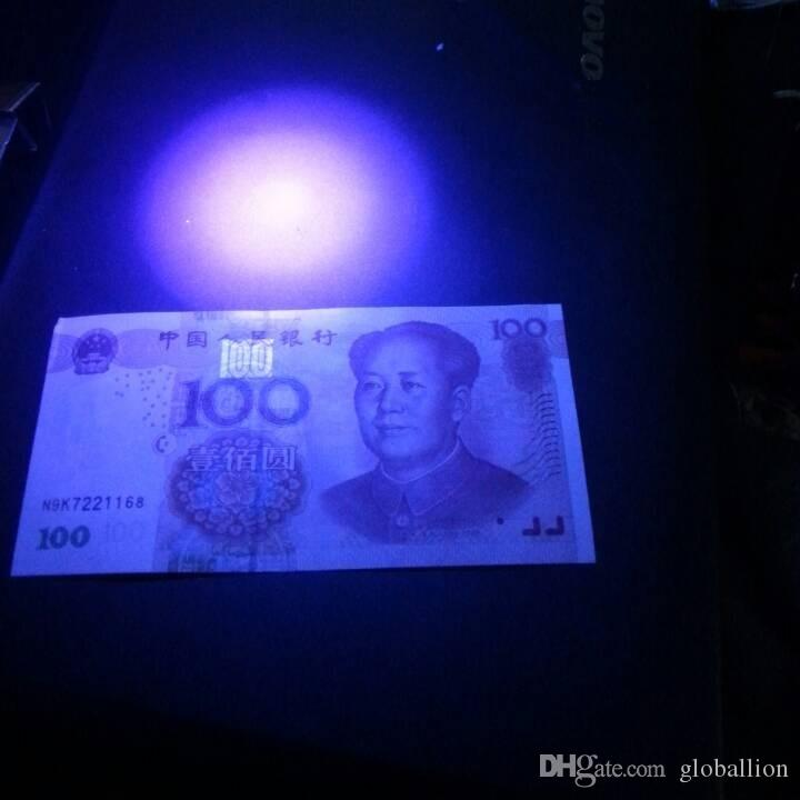 High Quality 21LED UV Purple Light Aluminum flashlight 100%NEW