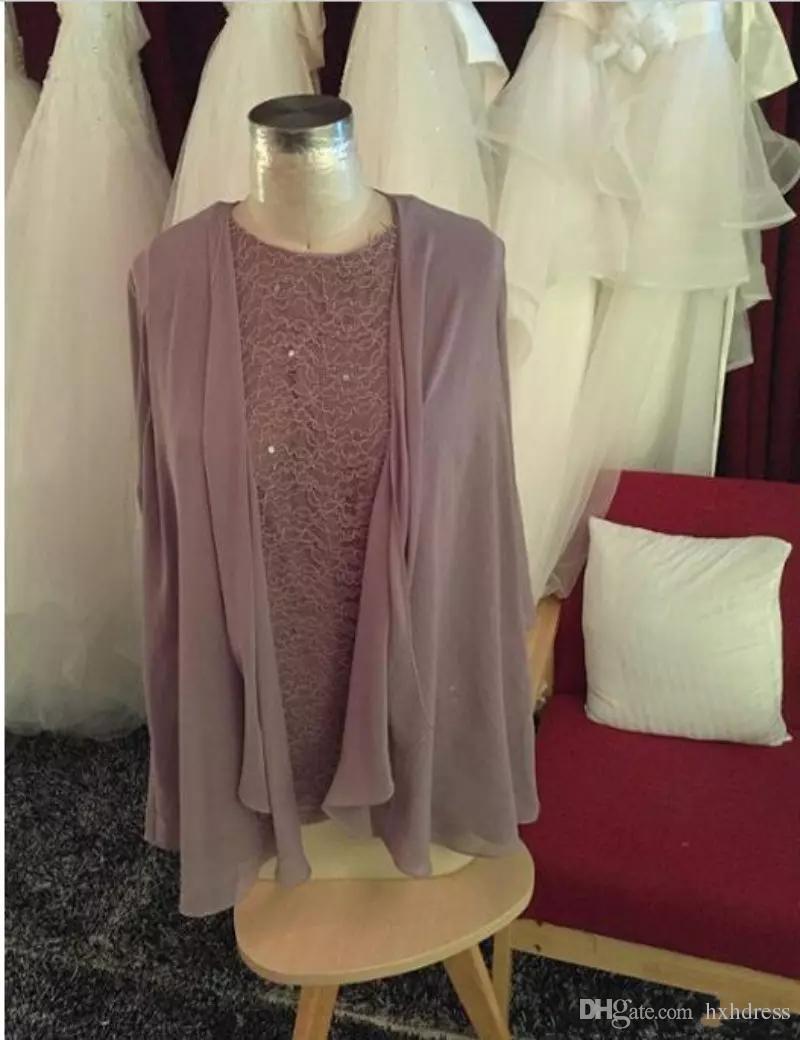 Шампанское трехчаганные матерью невесты дымовые костюмы с куртками плюс размер с длинными рукавами из бисера Шифон формальный вечерний случай носить 132