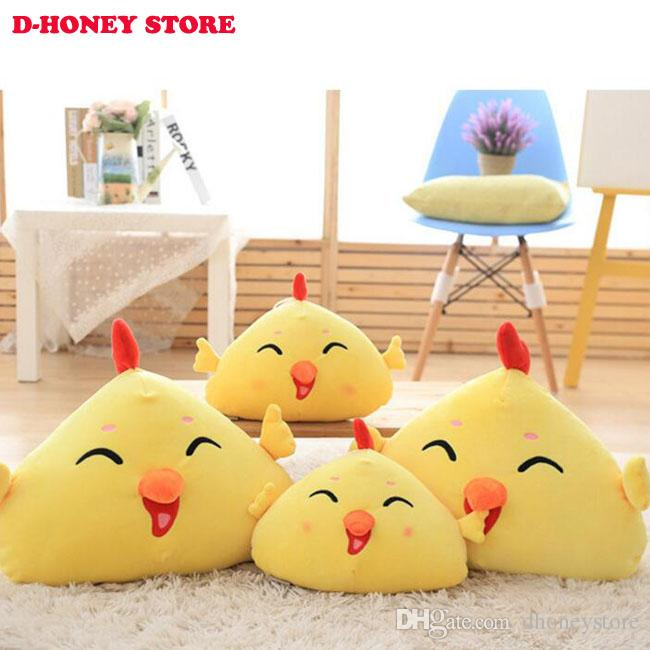 30cm Small Cute yellow Chicken Plush Hand Warm Doll Lovely Yellow Chicken Plush Soft Animals Stuffed Toys free shipping